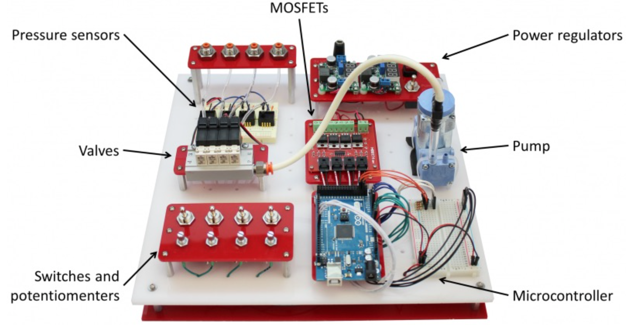 A Portable Air Driven System For Kinetic Structures Interactive Arduino Circuit To Control 1 Cylinder 2 Solenoid Valves Using Architecture Lab