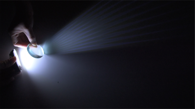 Negotiating Real and Unreal Experiences of Light | Interactive
