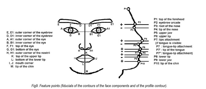 detecting human facial expression by common computer